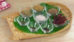 চটপটি মসলা-যা ৬ মাস সংরক্ষন করা যাবে _ Homemade Chotpoti Masala Upokoron