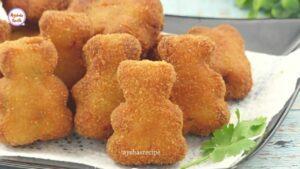 শীতের সবজি দিয়ে মজার নাস্তা 'ভেজিটেবল নাগেটস' _ Crispy Vegetable Nuggets_ KFC Veggie Strips Recipe_Moment last pic