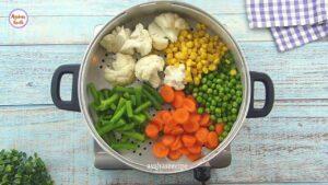 শীতের সবজি দিয়ে মজার নাস্তা 'ভেজিটেবল নাগেটস' _ Crispy Vegetable Nuggets_ KFC Veggie Strips Recipe_vagetables