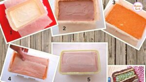 Ice-cream cake recipe all steps