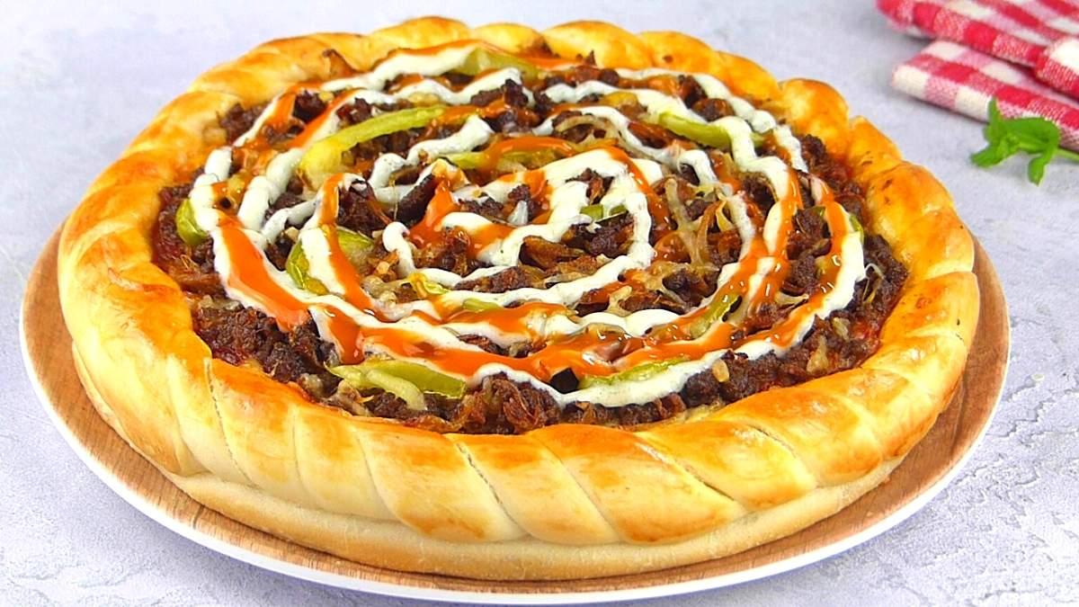 bangladeshi beef pizza